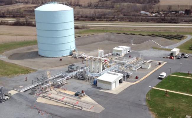 LNG Peak Shaving Plant w Liquefaction