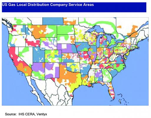 US Gas Local Distribution Companies